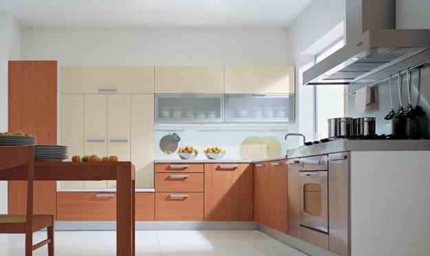 Photo gallery magical touch for Italian modular kitchen
